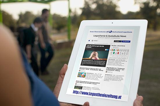 Tageszeitung für Legasthenietrainer