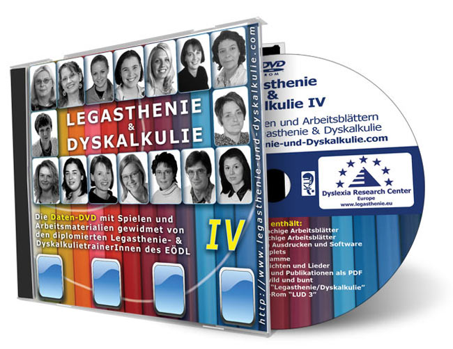 zur Website Legasthenie und Dyskalkulie IV DVD-Rom