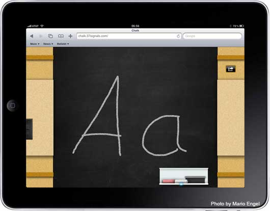 iPad Apple als Schultafel