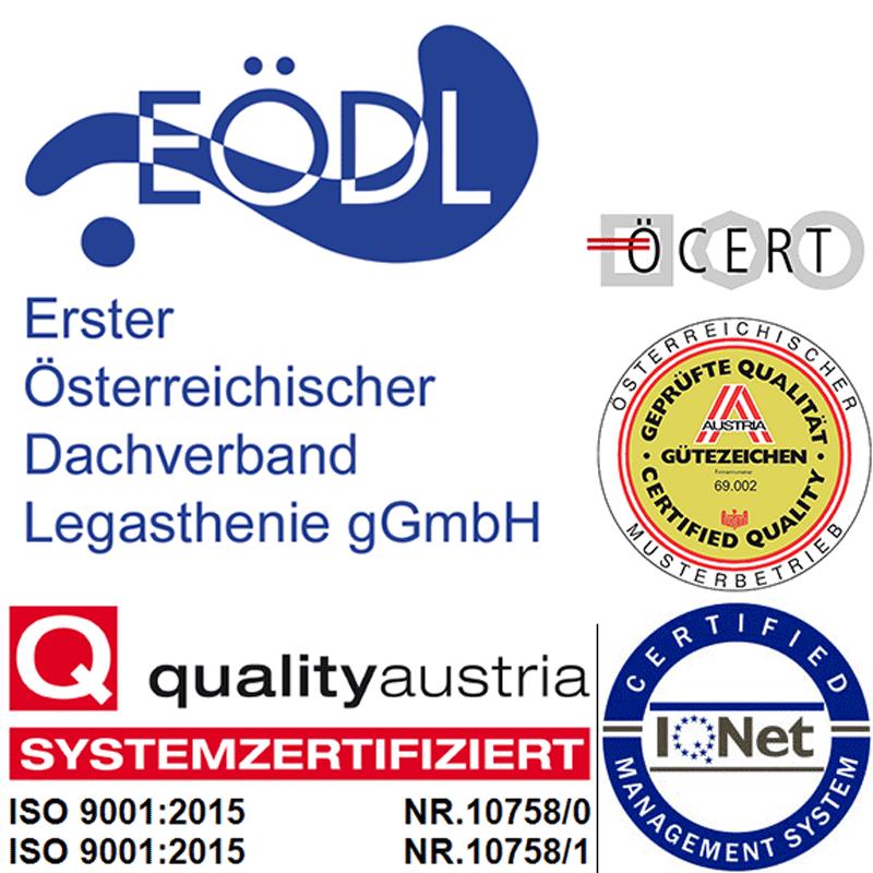 ISO Zertifiziert EÖDL